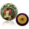 CacheQuarter 4 Seizoenen coin Lente - antiek goud