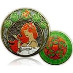CacheQuarter 4 Seizoenen coin Zomer - antiek goud
