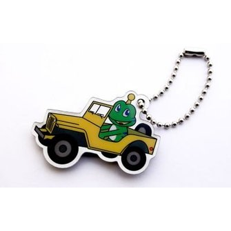 CacheQuarter Trackable tag Signal the Frog - Jeep rijden