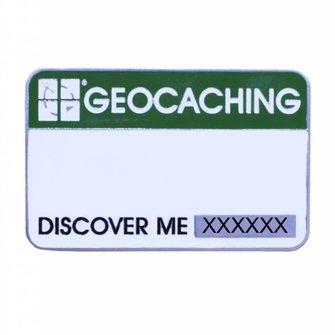 Groundspeak Trackable Event badge - geocaching logo Groundspeak