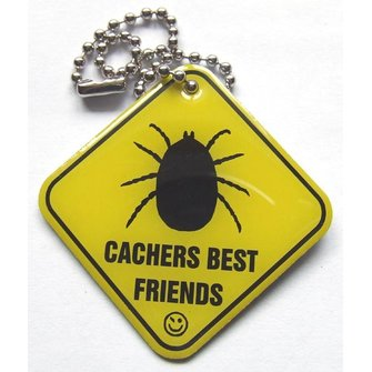 Cache Zone Trackable tag Cacher's best Friend - Teek