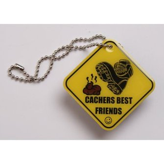 Cache Zone Trackable tag Cacher's best Friend - Poep