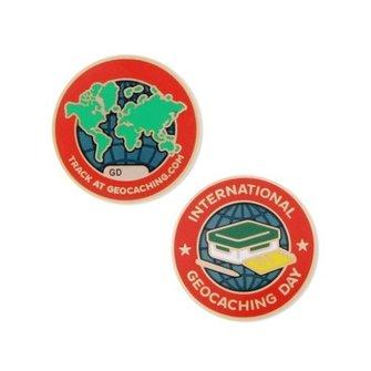 Groundspeak Geocoin - International Geocaching Day 2016