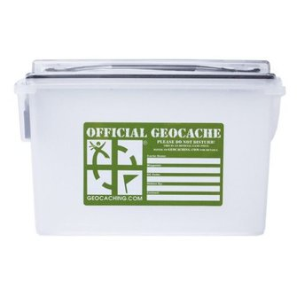 Groundspeak Regular munitiebox container - 3 l