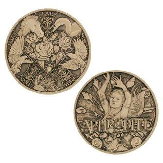 Groundspeak Geocoin Griekse Goden - Aphrodite, nr 9 van 12