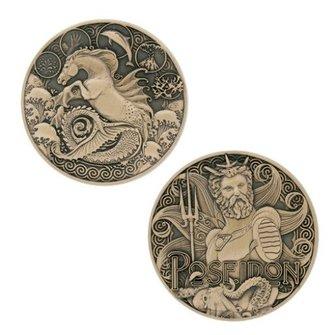 Groundspeak Geocoin Griekse Goden - Poseidon, nr 11 van 12