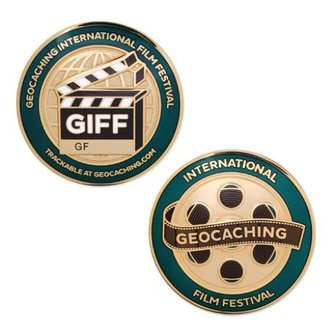 Groundspeak Geocoin International Geocaching Film Festival