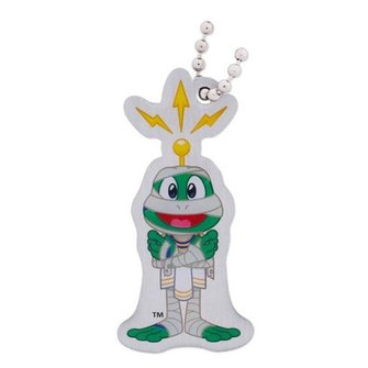 Groundspeak Trackable tag - Signal the Frog - Mummy