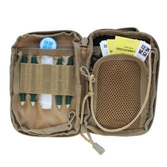 Groundspeak Onderhouds tas met logo patch - tan