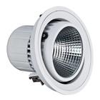 Cardanische LED Downlighters, serie Liv, 55W, Bridgelux COB LEDs
