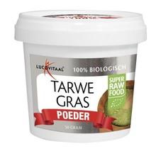 Lucovitaal Super raw food tarwegras poeder Inhoud:150g