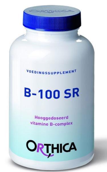 Orthica Vitamine B 100 SR Inhoud:120tab