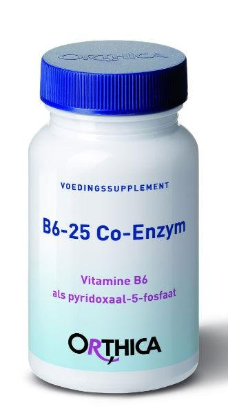 Orthica Vitamine B6-25 co enzym Inhoud:	60cap