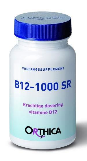 Orthica Vitamine B12 1000 SR Inhoud:90tab