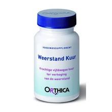 Orthica Weerstand kuur Inhoud:30cap