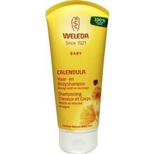 Weleda Calendula baby haar en body shampoo Inhoud:200ml