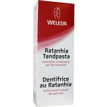 Weleda Ratanhia tandpasta Inhoud:75ml