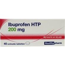 Healthypharm Ibuprofen 200mg Inhoud:40tab