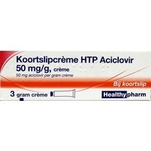 Healthypharm Koortslip creme aciclovir Inhoud:3g
