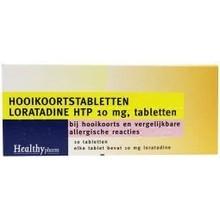 Healthypharm Loratadine hooikoorts tablet Inhoud:10tab