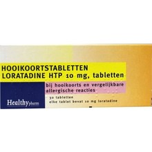 Healthypharm Loratadine hooikoorts tablet Inhoud:30tab
