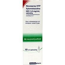 Healthypharm Neusspray xylometazol 1.0% Inhoud:10ml