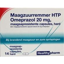 Healthypharm Omeprazol 20 mg Inhoud:14cap