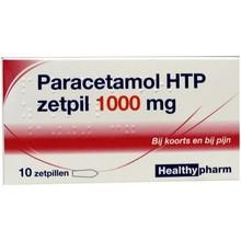 Healthypharm Paracetamol 1000 mg Inhoud:10zp