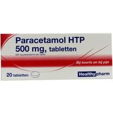 Healthypharm Paracetamol 500mg Inhoud:20tab