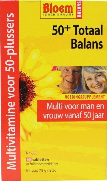 Bloem 50+ Totaal balans Inhoud:60tab