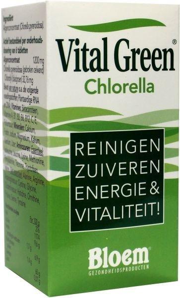 Bloem Chlorella vital green Inhoud:200tab