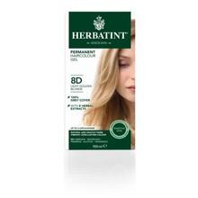Herbatint 8D Light golden blonde Inhoud:150ml