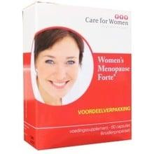 Care for women Menopause forte Inhoud:60c
