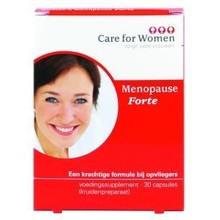 Care for women Menopause forte Inhoud:30c