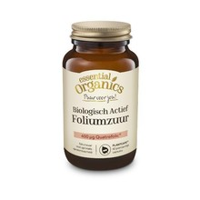 Essential Organics Actief foliumzuur puur 60cap