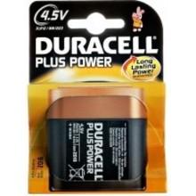Duracell Alkaline plus power 4.5V