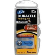 Duracell Hearing aid batterij 675 Inhoud:6st