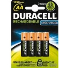 Duracell Stays Charged AA 4 pak