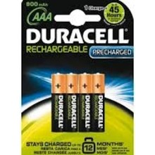 Duracell Stays Charged AAA 4 pak