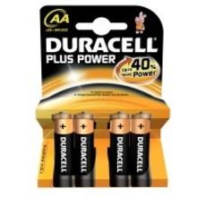 Duracell Alkaline plus power AA Inhoud:4st