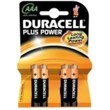 Duracell Alkaline plus power AAA Inhoud:4st