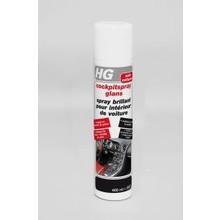 HG Cockpitspray glans n/f Inhoud:400 ml