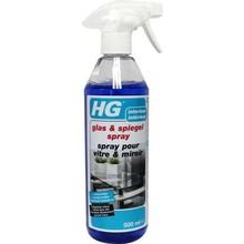 HG Glas en spiegel spray Inhoud:500 ml