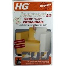 HG Leerverfkit zitmeubel creme wit Inhoud:700 ml