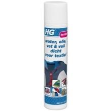 HG Water olie vuil textiel spray Inhoud: 300 ml