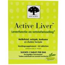 New Nordic Active liver Inhoud:30 tabletten