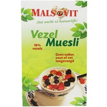 bountiful Malsovit vezelmuesli Inhoud:500 gram