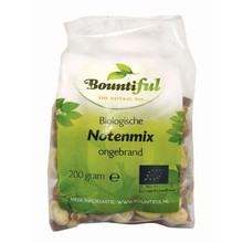 bountiful Noten mix bio Inhoud:200 gram