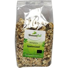bountiful Spelt muesli bio Inhoud:500 gram
