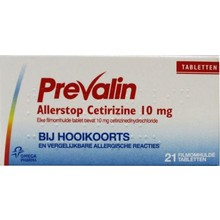 Prevalin Allerstop Inhoud: 21 tabletten
